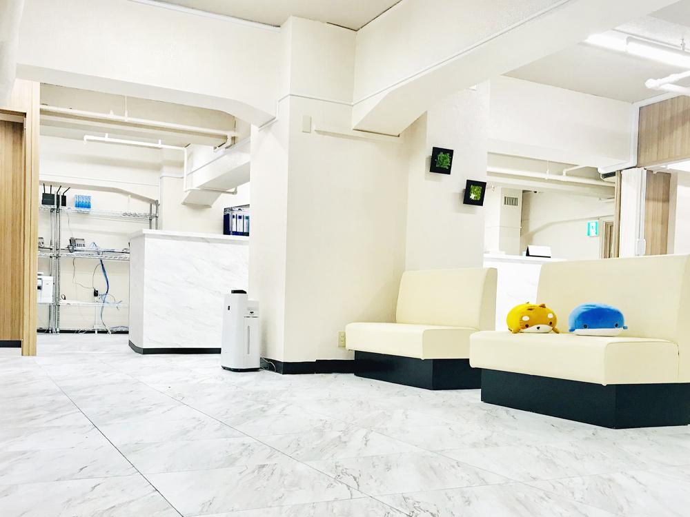 待合室|ゆうメンタルクリニック横浜院